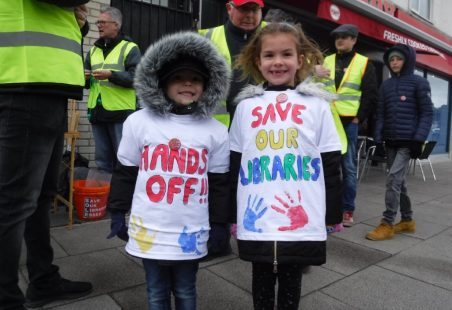 Community March for Castle Point Libraries