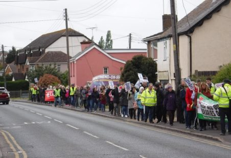 Community March for Castle Point Libraries 27 April 2019