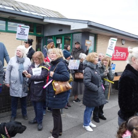 Outside Benfleet Library | Phil Coley