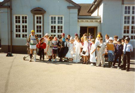 Thundersley Primary School Fun Day July 1990