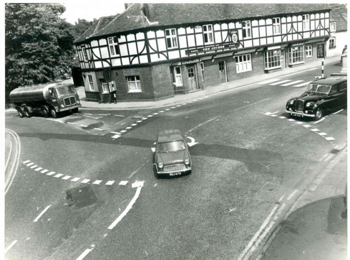 A mini traversing the mini-roundabout! | CPDC