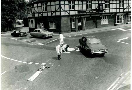 The world's first Mini-Roundabout was installed in Benfleet