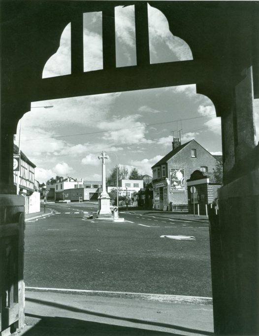 Mini-roundabout on the 27th August 1974 | CPDC
