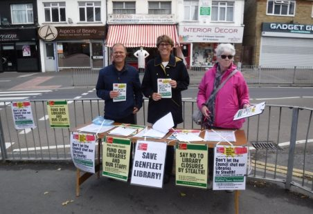 Benfleet Library Day of Action, 28th September 2019