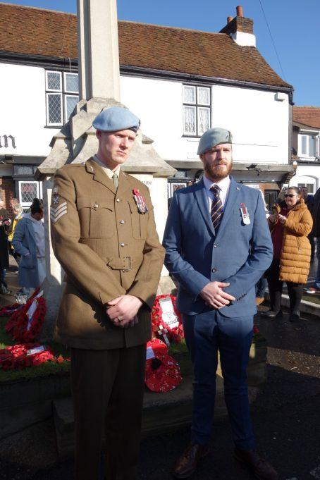 Active Servicemen at Benfleet War memorial | Phil Coley