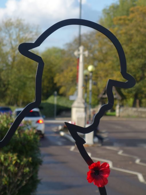 Benfleet Tommy at War Memorial on Sunday 10th November 2019 | Phil Coley