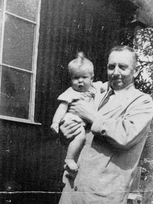 The author with her Great-granddad | Susan Ryall