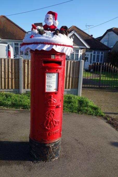 Post Box - Christmas 2019 | Phil Coley