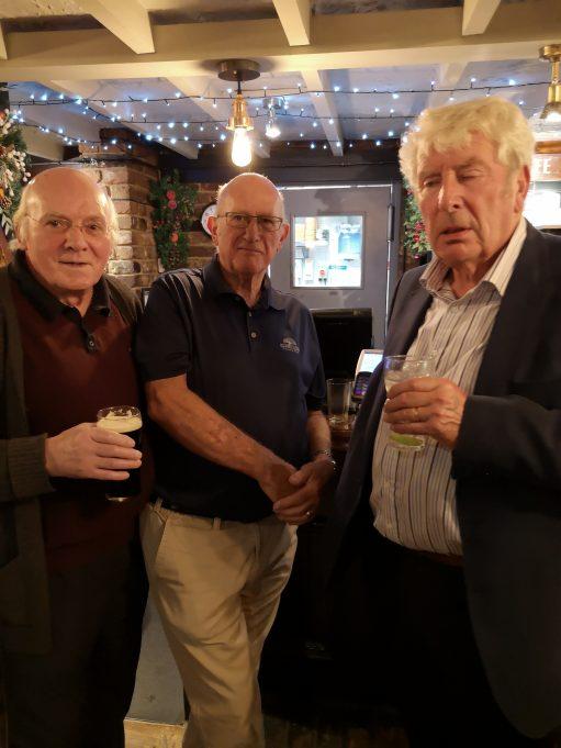 Doug, Laurence and Merlin | Roger Taylor