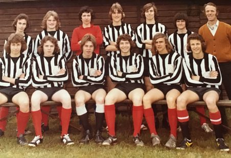 Thundersley Rovers FC in the 1970s