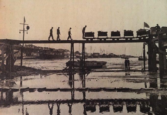 Work progresses on the new Benfleet / Canvey bridge in 1930 | The Echo