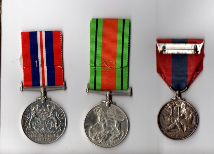 Mr Wray's Medals