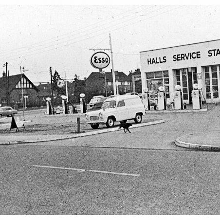 Halls Service Station c.1960s | John Downer