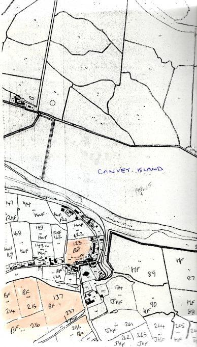 Boyce Hill farm shown on the 1841 tithe map [1]