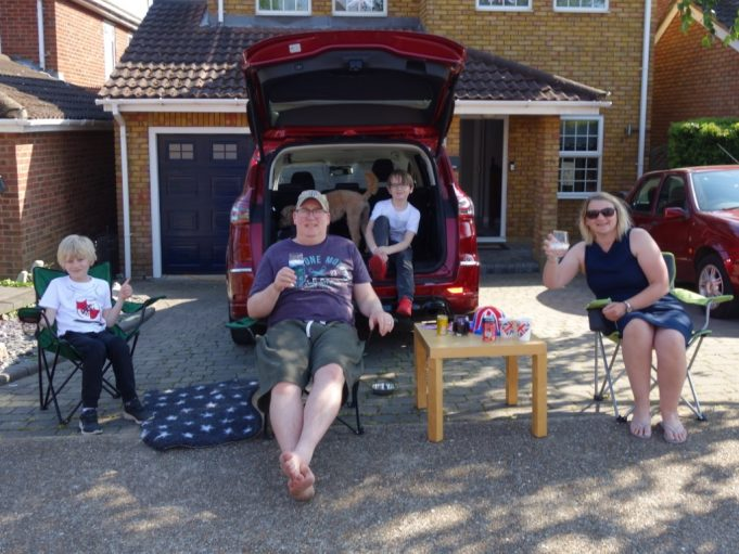 VE 75 street party in Kimberley Road | Christine Coley