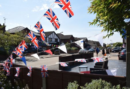 VE Day Celebrations Albion Road
