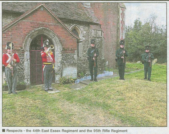 Memorial Service at All Saints Church, North Benfleet | Echo Newspaper June 19th 2020