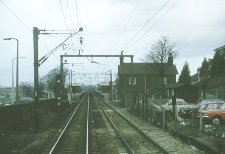 An unusual view of Benfleet Station