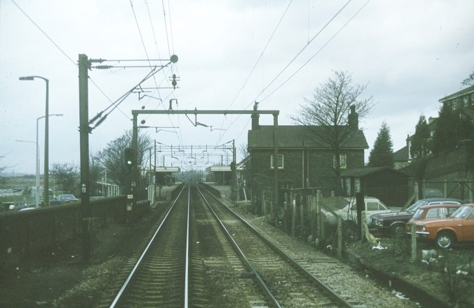 Approaching Benfleet Station in 1981 | Dave Fisher