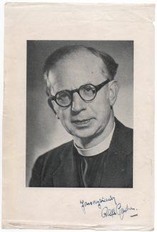 Signed photo of Ralph Gardner | Stuart Dobson