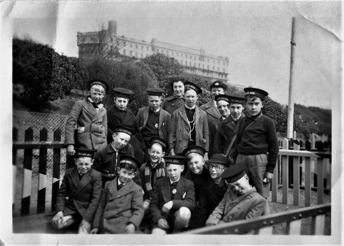 Thundersley Life Boys on a trip to Southend Pier, Early 1950s | Pete Robbins