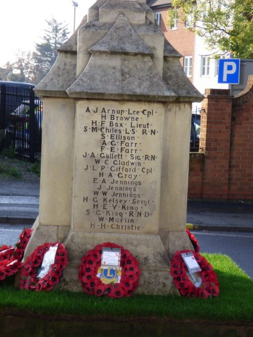 Wreaths on War Memorial 2020 | Phil Coley