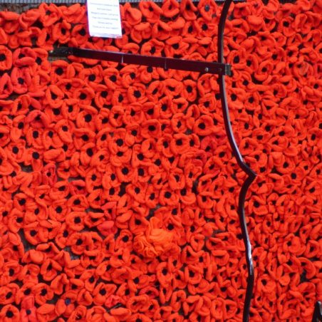 St Marys Church wall of poppies | Phil Coley