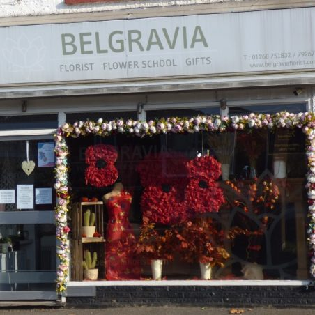 Belgravia Florist poppy display | Phil Coley