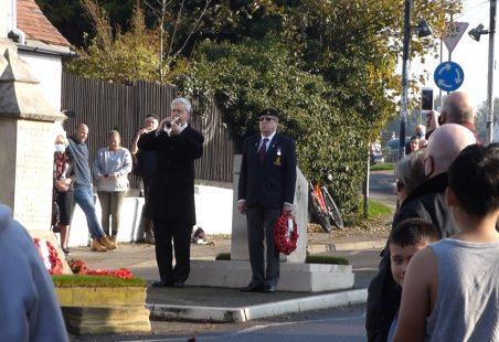 Benfleet Remembrance Sunday 8th November 2020
