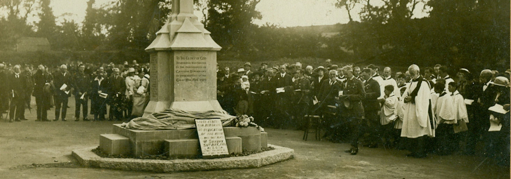 South Benfleet war memorial unveiling 30th May 1920 (3)