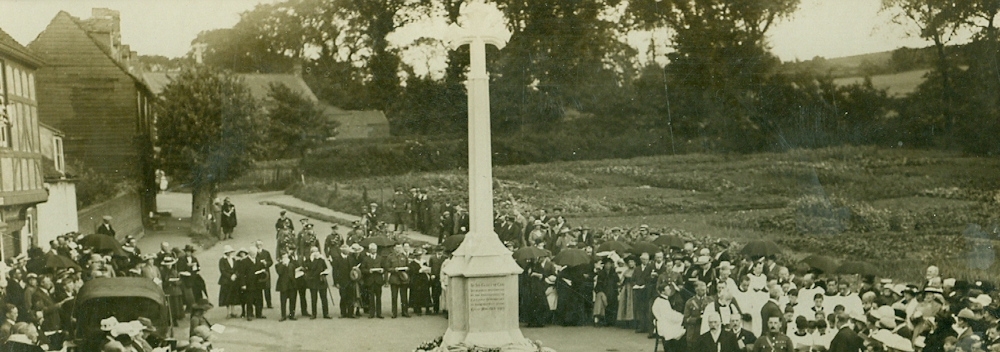 South Benfleet war memorial unveiling, 30th May 1920 (4)