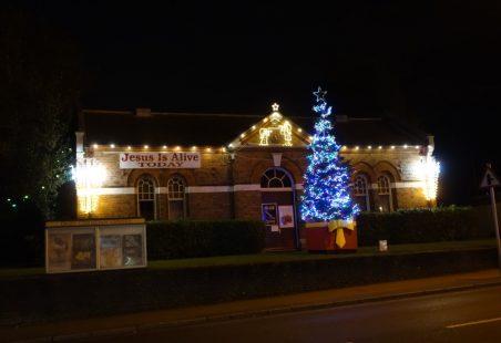 Benfleet Christmas Lights and Tree 2020