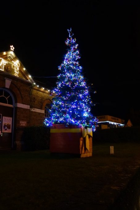 Benfleet Christmas tree 2020 outside Oasis | Phil Coley