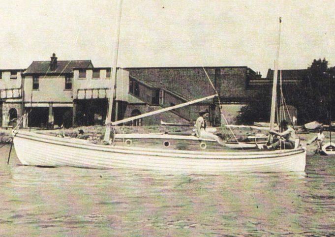 Ken Brown's boat 'Carefree'