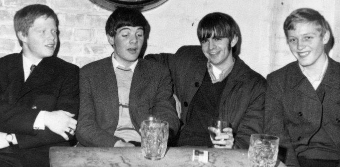 Mark Stuart, Mick Prewer, Steve Davis & Trev Harwood (Tavern-in-the- Town, Southend - 1969) | Steve Davis
