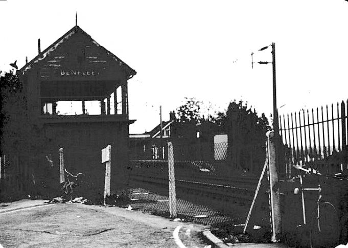 Benfleet station signal box just prior to demolition | Ian Lipscomb