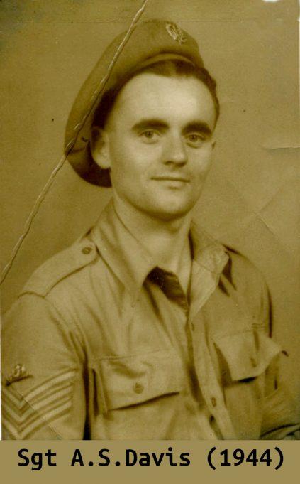 Sgt. A.S. Davis (1944) | Steve Davis