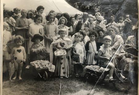Vicarage Garden Party South Benfleet 1954