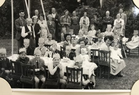 Coronation Party  Summer 1953