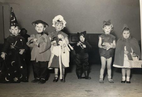 Children's Fancy Dress 1954/55