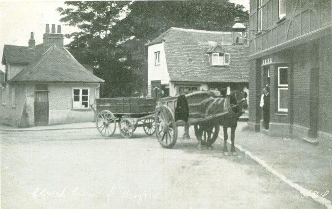 Benfleet Church Corner 1910 | Bygone Benfleet by N. M. Chisman