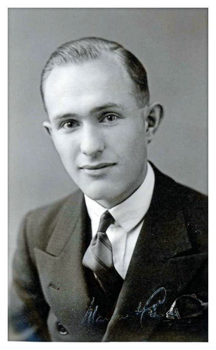 Portrait of Stanley Thomas Jermyn as a young man | RMA's Family Tree Ancestry