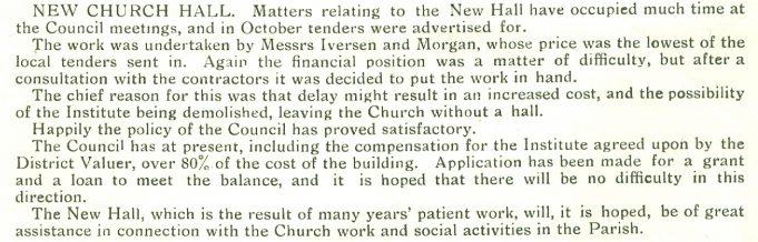 Report 1931 | Benfleet Community Archive