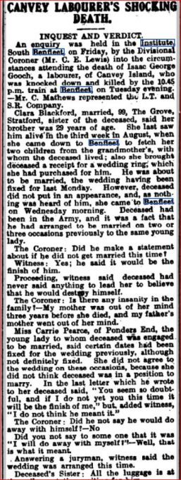 Southend Standard 29 Sept 1910 | Southend Standard Newspaper Archives