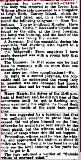 Southend Standard 29th Sept 1910 | Southend Standard Newspaper Archives