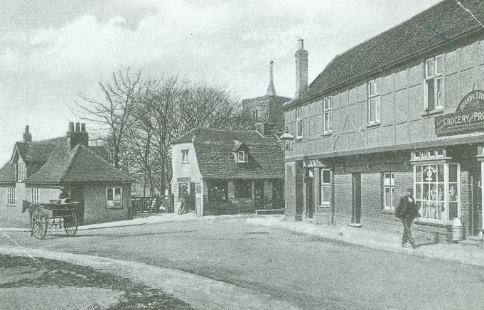 Anchor and Institute 1910 | Bygone Benfleet by N. M. Chisman