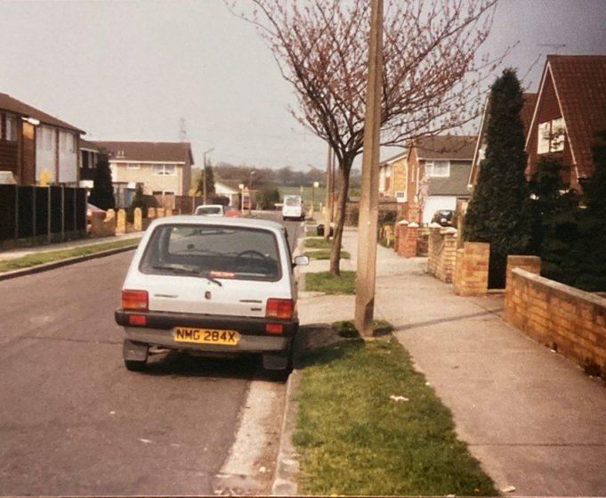 Arundel Road looking west towards Rushbottom Lane in 1976 | Pat White