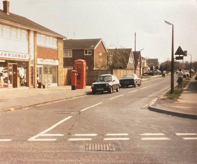 Arundel Road looking east in 1976 | Pat White