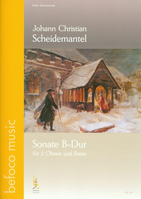 Cover for a Sonata by John Christian Mantel | Bernhard Forster