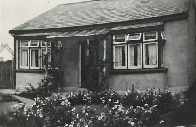 My father's bungalow in Arundel Road around the time he bought it in 1949 | Pat White